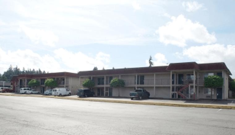 King Oscar Motel Exterior Corridor Tacoma Washington