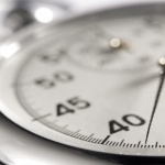 Close up of a stopwatch