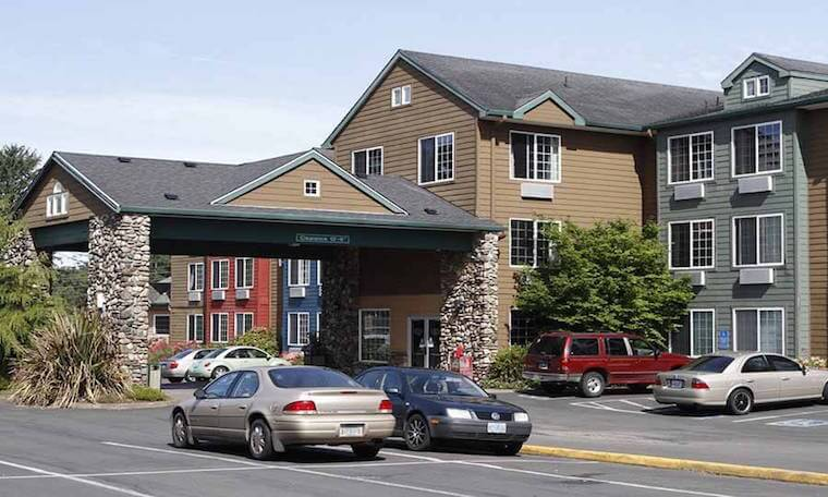 Ashley Inn Lincoln City Exterior
