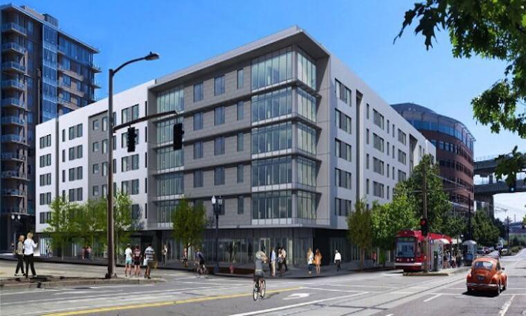 Rendering of new Hyatt Downtown Portland