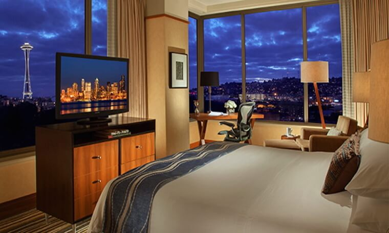 Pan Pacific Hotel in Seattle