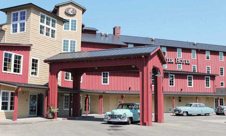 Cannery Pier Hotel Astoria Oregon