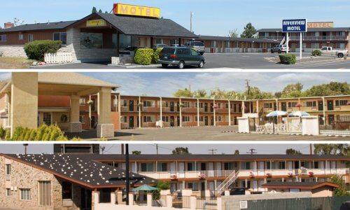Trio of I-84 Oregon Motels