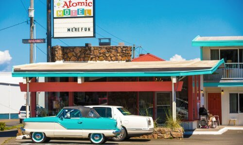 Atomic Motel, Astoria, OR