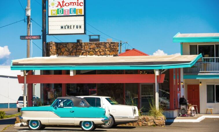 Atomic Motel, Astoria, OR
