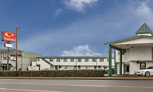 Econo Lodge Newport Oregon Exterior